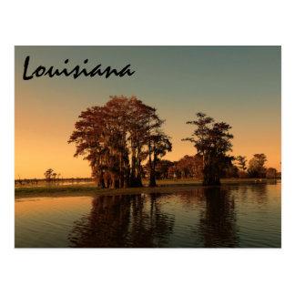 Albufeira de Louisiana Cartão Postal