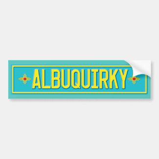 Albuquirky Adesivo Para Carro