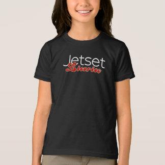Alcaçuz de Jetset > t-shirt das meninas Camiseta
