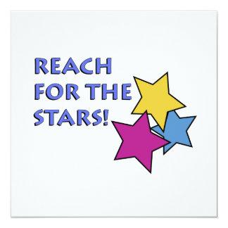 Alcance para as estrelas! Convite