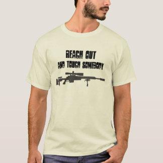 Alcance para fora e toque em alguém - camisa do