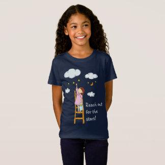 Alcance para fora para as estrelas camiseta