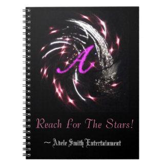 Alcance para o caderno das estrelas