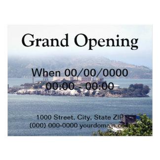 Alcatraz Flyer 21.59 X 27.94cm