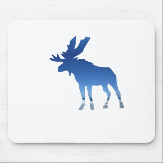 alces azuis mouse pad