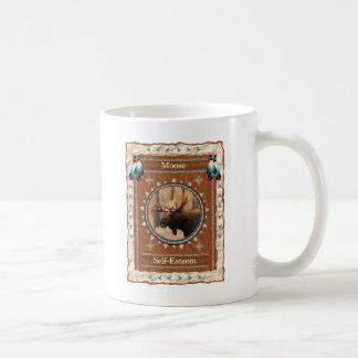 Alces - caneca de café clássica do amor-próprio