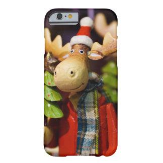 Alces de Papai Noel dos enfeites de natal Capa Barely There Para iPhone 6