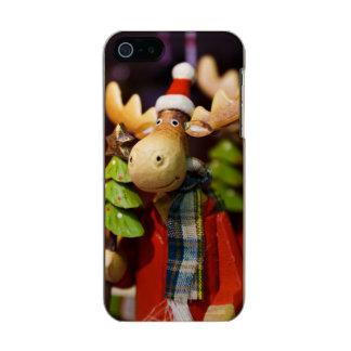 Alces de Papai Noel dos enfeites de natal Capa Incipio Feather® Shine Para iPhone 5
