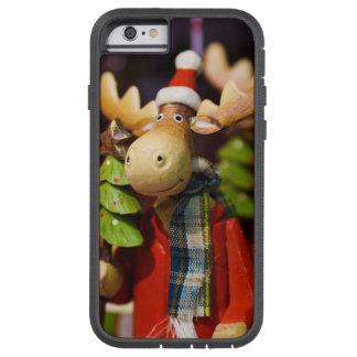 Alces de Papai Noel dos enfeites de natal Capa iPhone 6 Tough Xtreme
