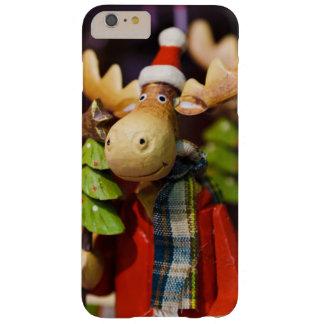 Alces de Papai Noel dos enfeites de natal Capas iPhone 6 Plus Barely There