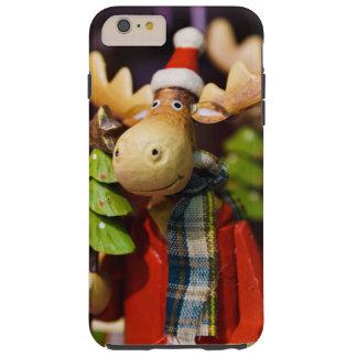Alces de Papai Noel dos enfeites de natal Capas iPhone 6 Plus Tough