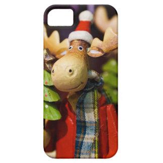 Alces de Papai Noel dos enfeites de natal Capas Para iPhone 5