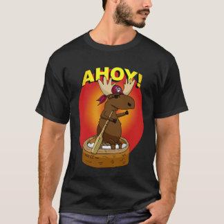 Alces do pirata Ahoy! T-shirt Camiseta