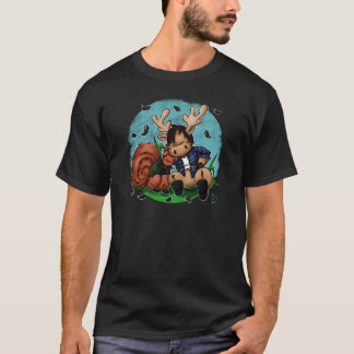 Alces e esquilo camiseta