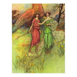 Alceste e o deus do cartão do amor