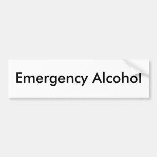 Álcool da emergência adesivo para carro