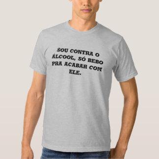 alcoolismo t-shirts