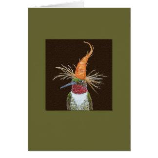 Aldous o cartão do colibri