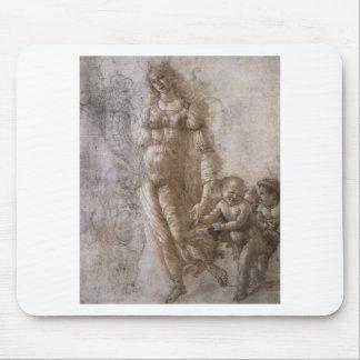 Alegoria da abundância por Sandro Botticelli Mouse Pad