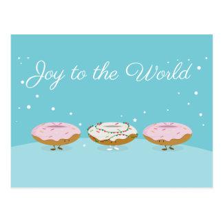 Alegria ao cartão das rosquinhas | do mundo