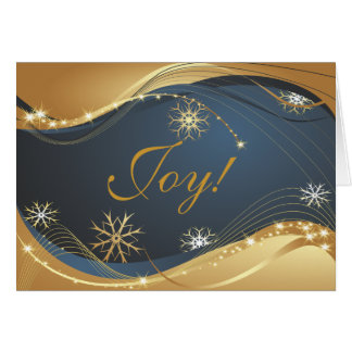 Alegria ao cartão de Natal moderno do mundo