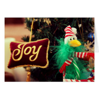 Alegria - cartão do feriado 5x7 pelo jjhelene