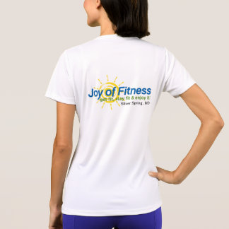Alegria da camisa do exercício da malhação t-shirts