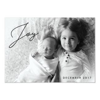 Alegria do feriado - cartões de foto de Natal da