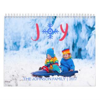 Calendário Alegria | do floco de neve calendário de 2017