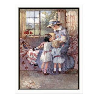 Alegria infantil pela honra C. Appleton Cartão Postal
