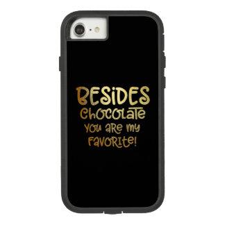 """""""Além capas de iphone do chocolate"""""""