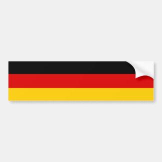 Alemanha - bandeira nacional alemão adesivo