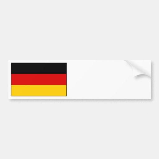 Alemanha - bandeira nacional alemão adesivos