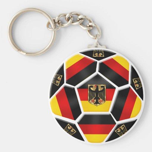 Alemanha - bola de Alemanha fãs de futebol de 2014 Chaveiros