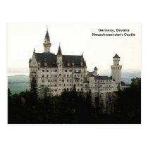 Alemanha, castelo de Baviera Neuschwannstein Cartão Postal