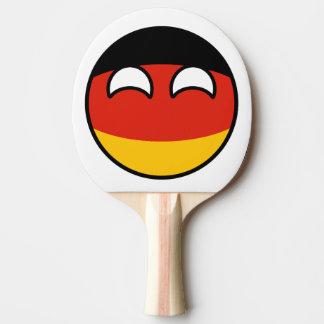 Alemanha Countryball Raquete Para Ping Pong