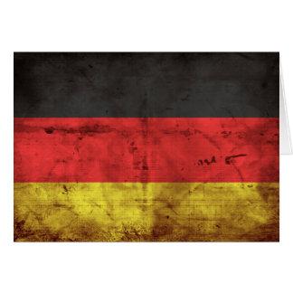 Alemanha Flagge Cartão De Nota