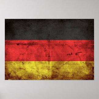 Alemanha Flagge Poster
