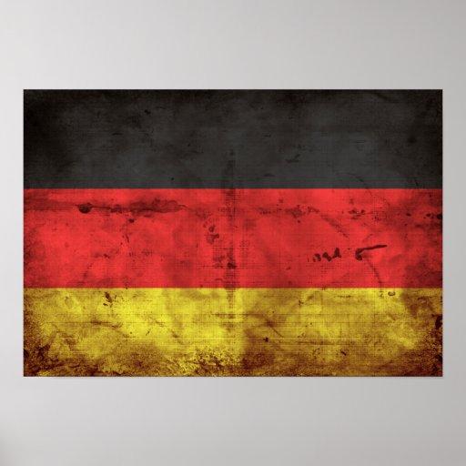 Alemanha Flagge Impressão