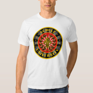 Alemão da universidade de Schulz Camisetas