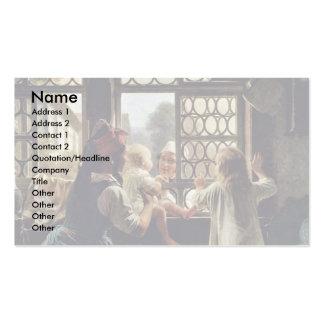 """Alemão, do """"pai bom dia """" cartão de visita"""