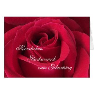 Alemão Feliz aniversario