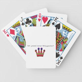 Alemão - rei carta de baralho