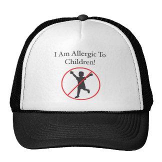 alérgico às crianças boné