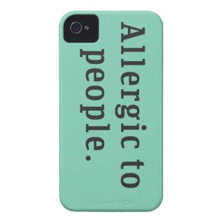 """""""Alérgico"""" às pessoas do caso do iPhone 4/4s Capinha iPhone 4"""