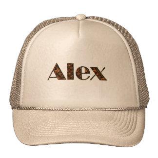 ALEX Nome-Marcou o boné personalizado da forma