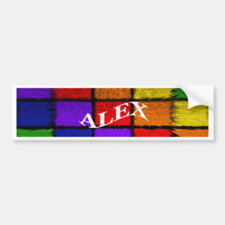 ALEX (nomes masculinos) Adesivo Para Carro