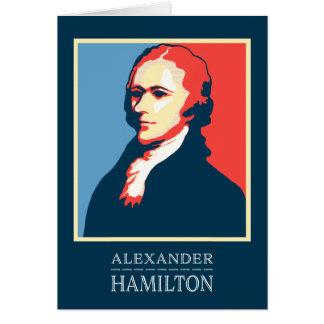 Alexander Hamilton perdoa-o para seu erro Cartão Comemorativo