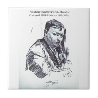 Alexander Konstantinovich Glazunov 1899