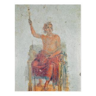 Alexander o excelente, possivelmente como Zeus Cartão Postal
